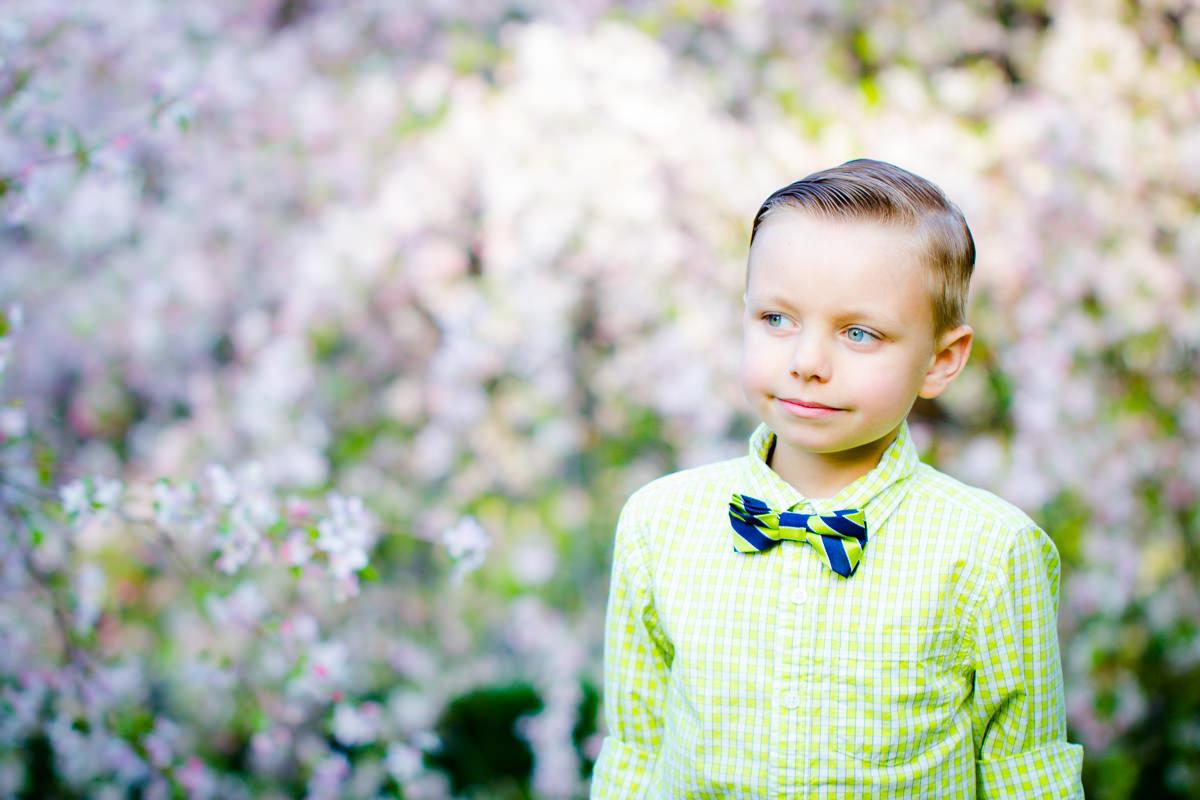Des Moines Wedding Photography Child Bowtie