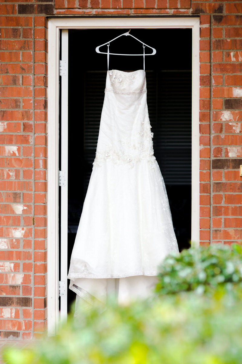 Fort Worth Wedding Photography Dress