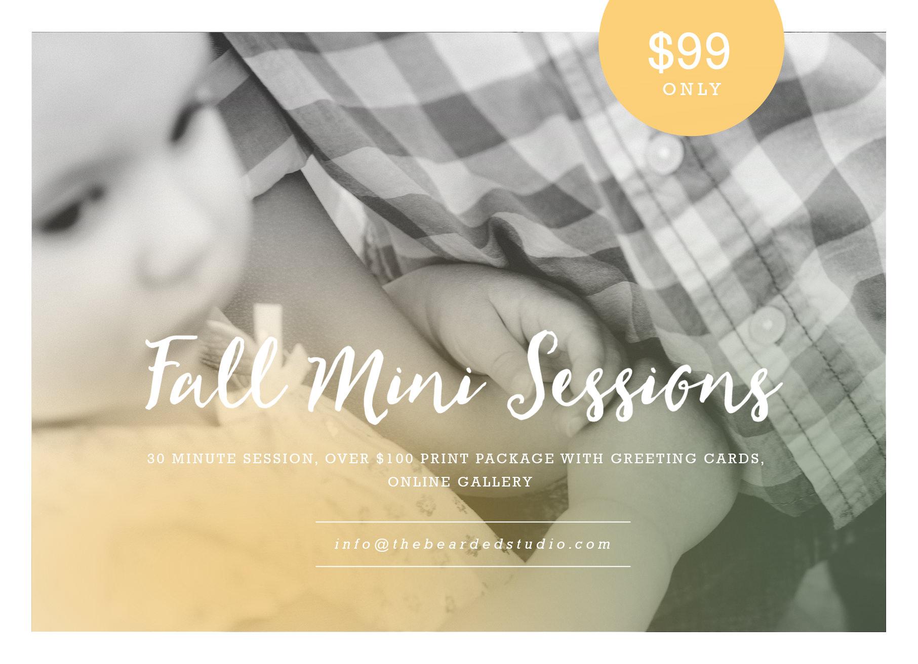 Fall-Mini-Sessions