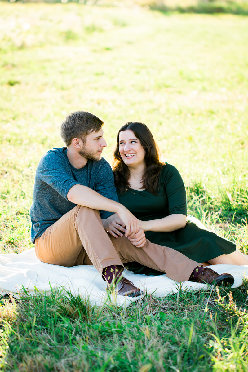 Engagement Photographer Des Moines Madeline And John
