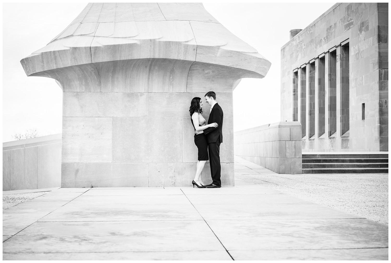 liberty memorial engagement photography