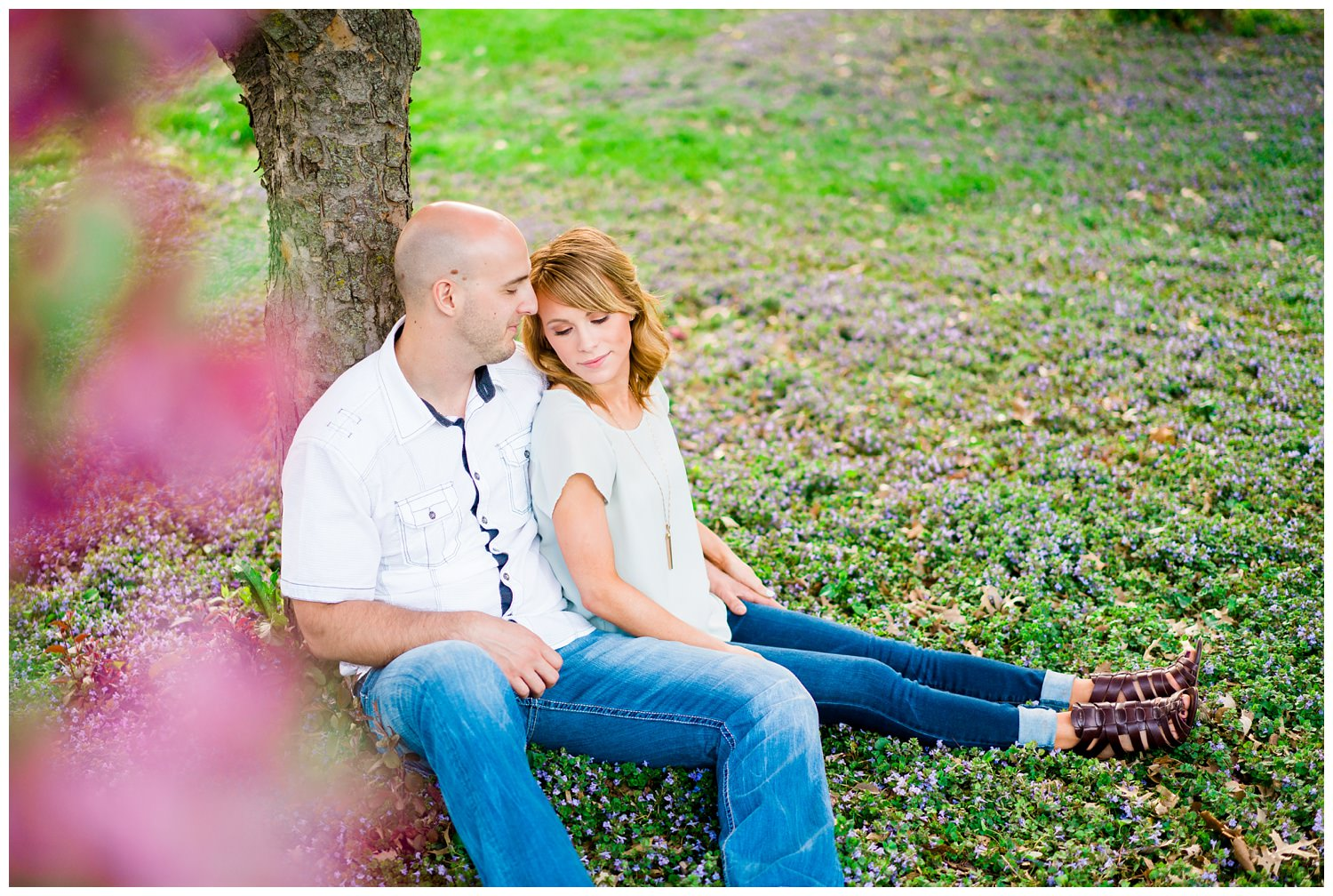 des moines water works park engagement photography