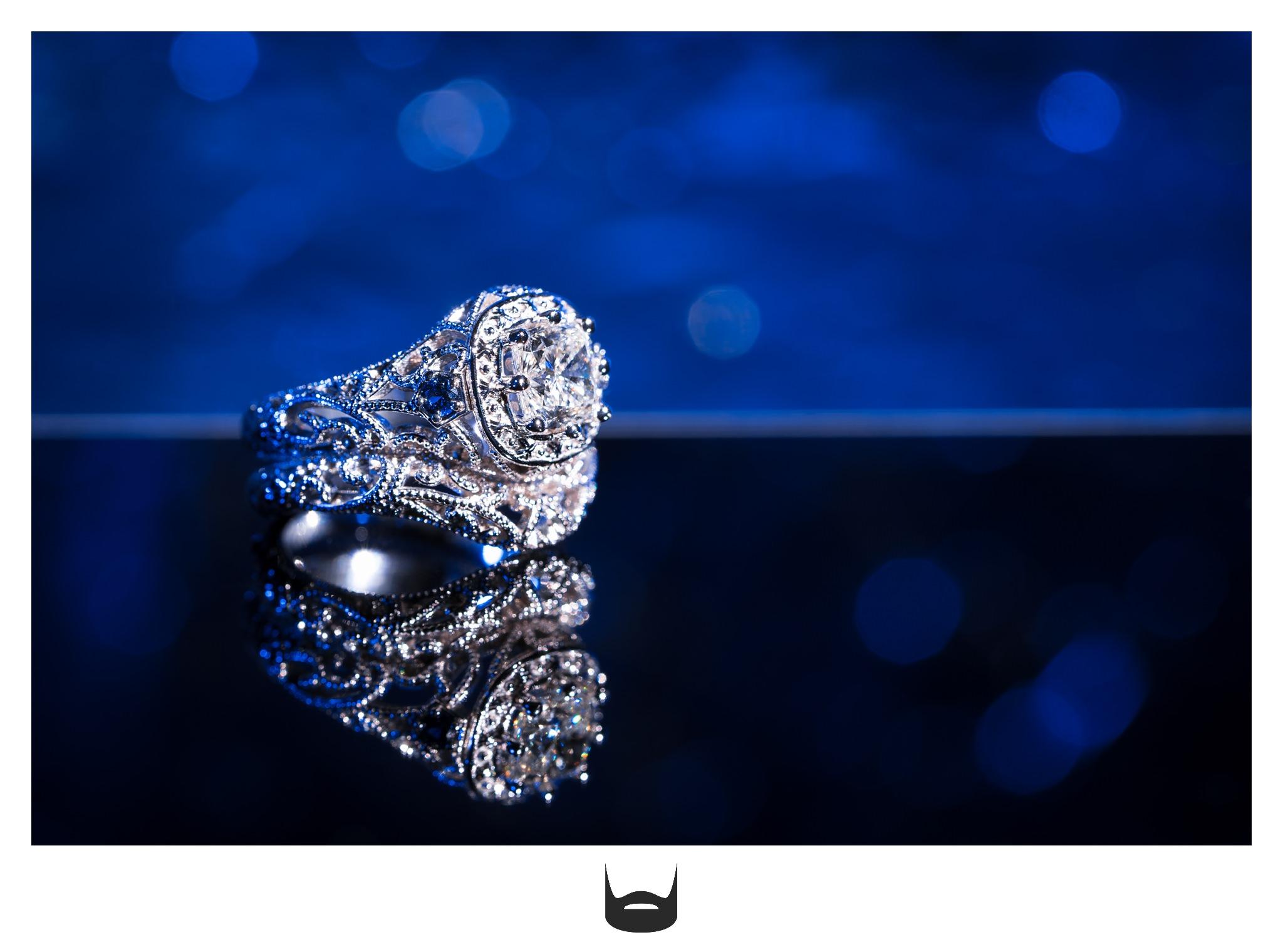 edwardian engagement wedding ring