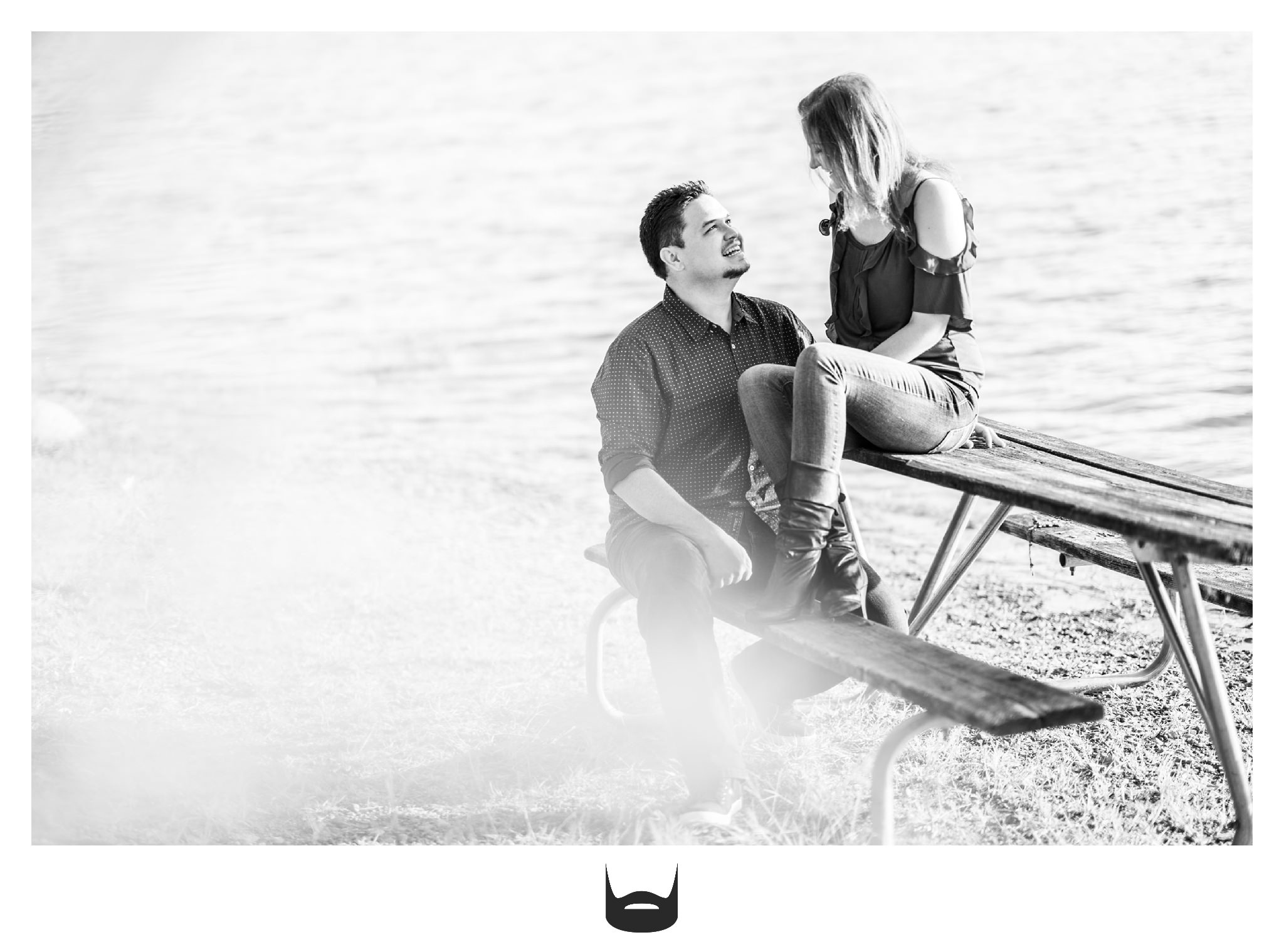 des moines engagement photography awesome
