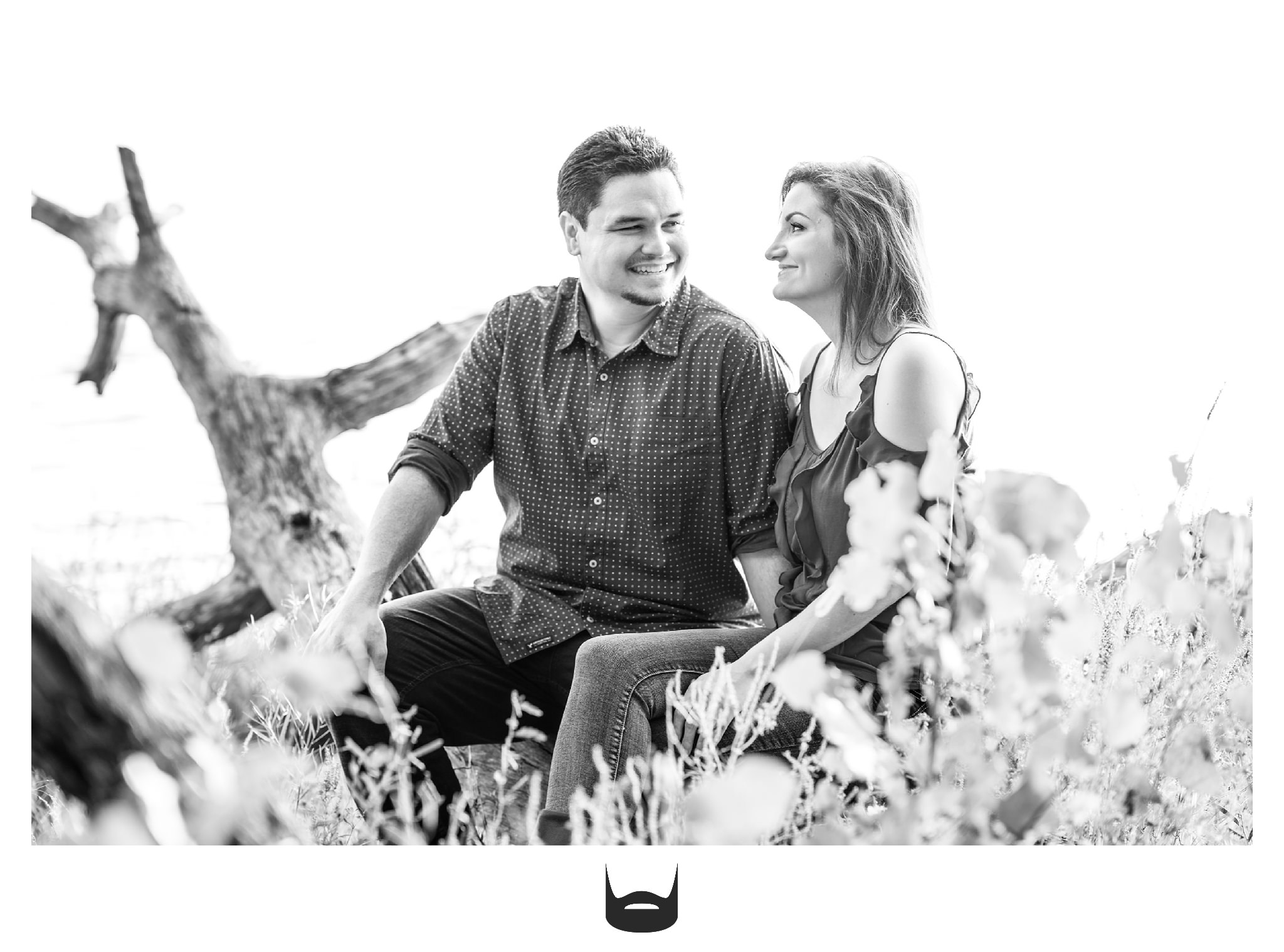 des moines engagement photography love