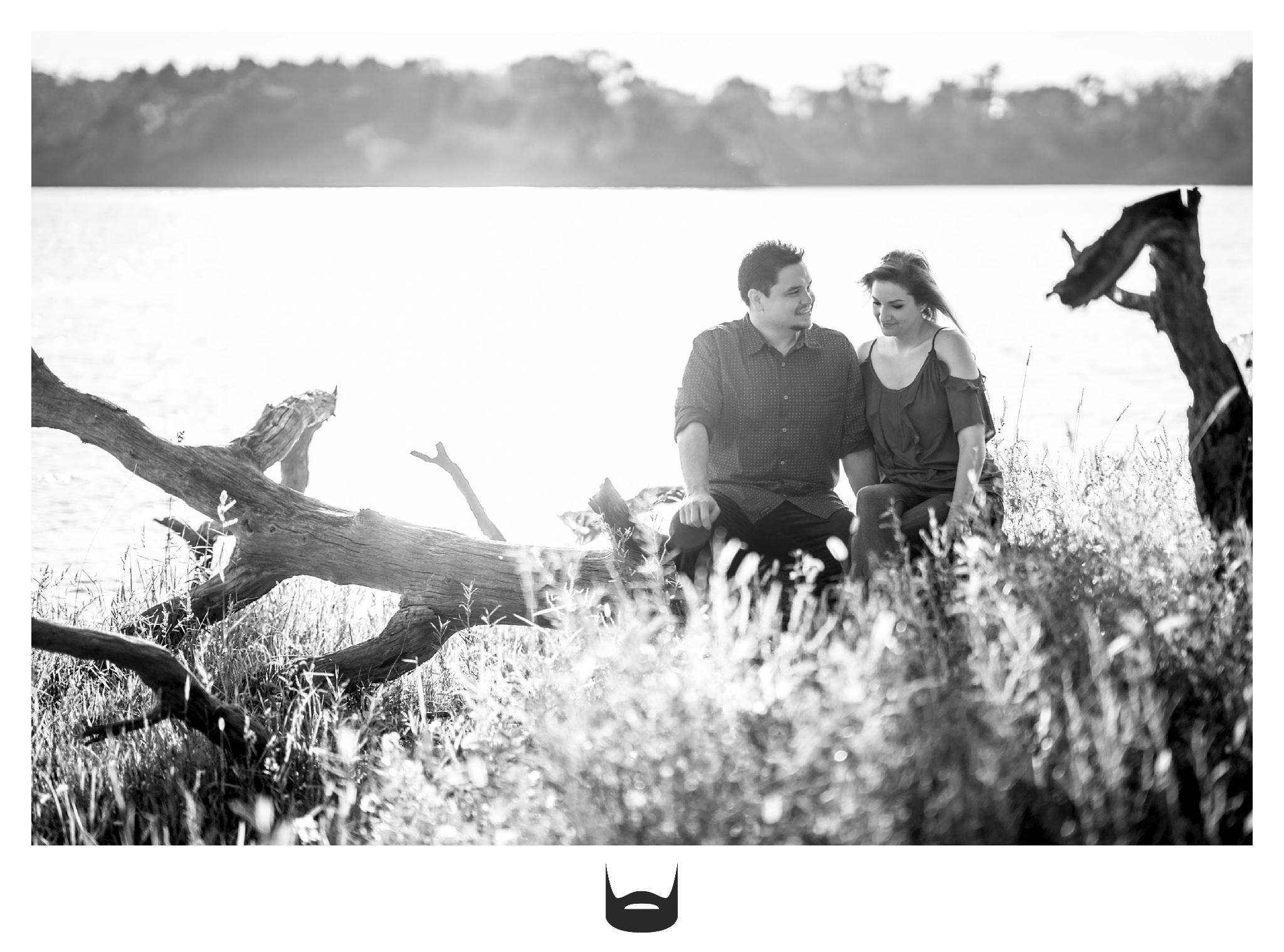 des moines engagement photography lake