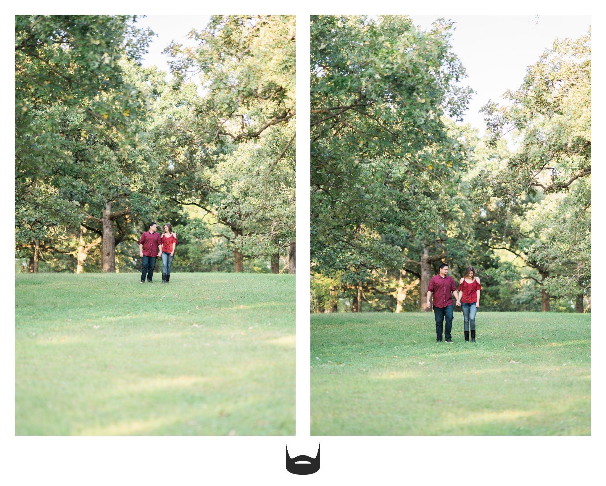 des moines engagement photography love