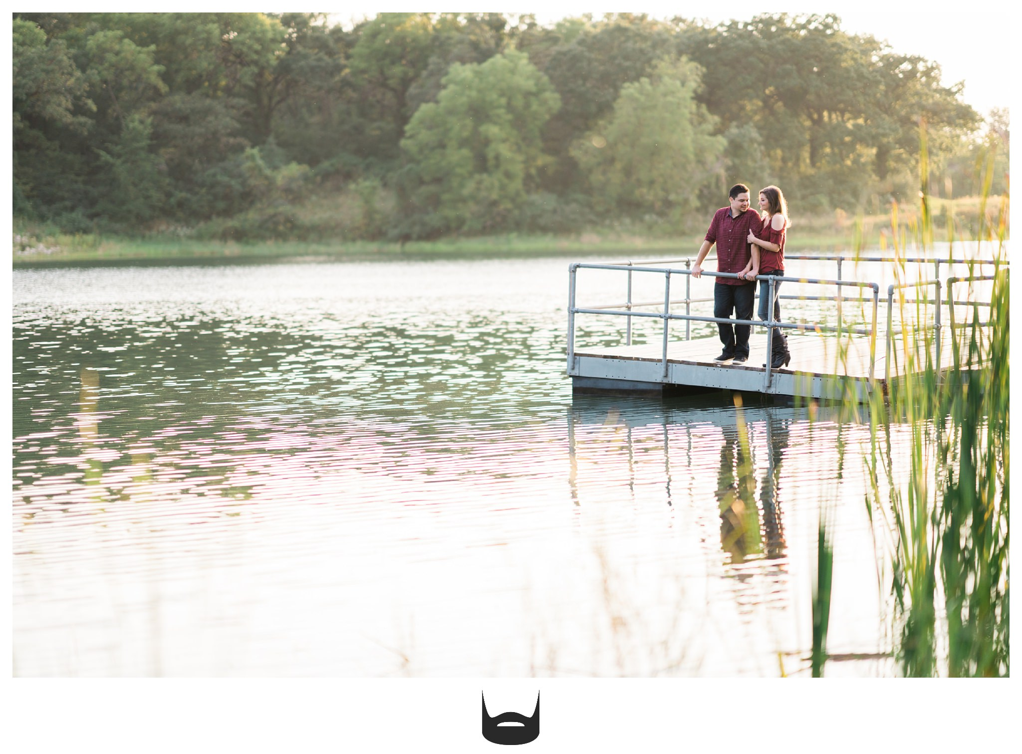 des moines engagement photography happy