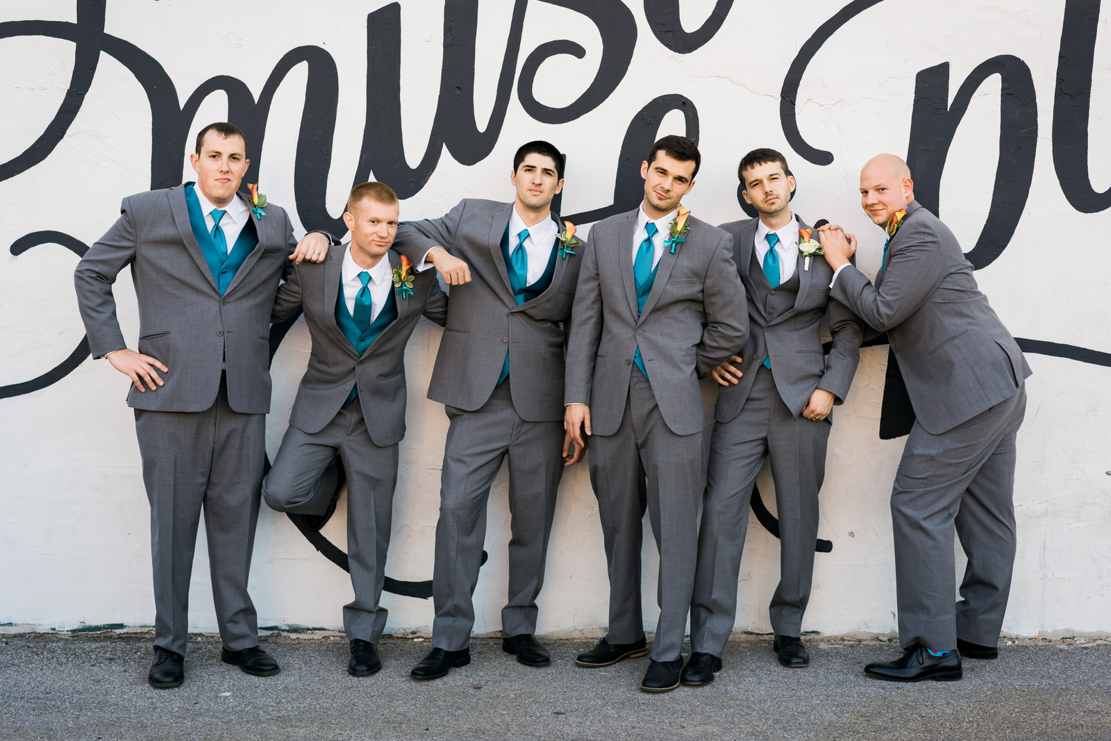 Des Moines Wedding Photography Groomsmen